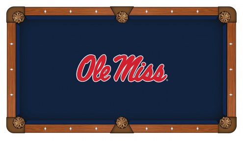 Mississippi Rebels Pool Table Cloth