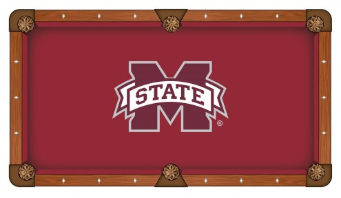 Mississippi State Bulldogs Pool Table Cloth