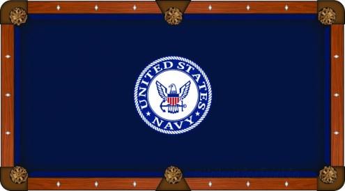 U.S. Navy Midshipmen Pool Table Cloth