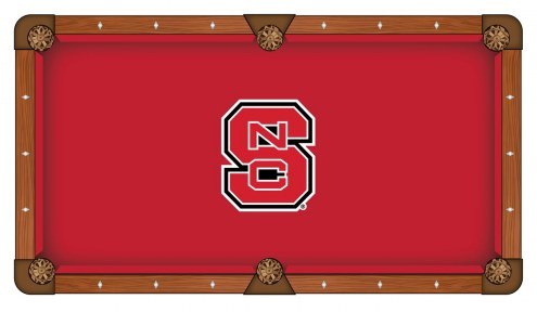 North Carolina State Wolfpack Pool Table Cloth