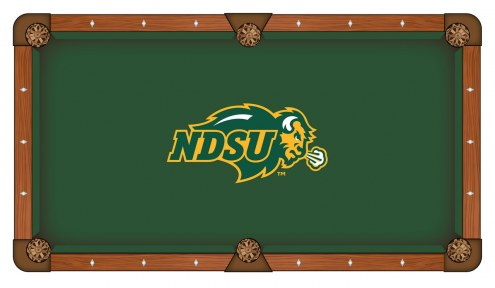 North Dakota State Bison Pool Table Cloth