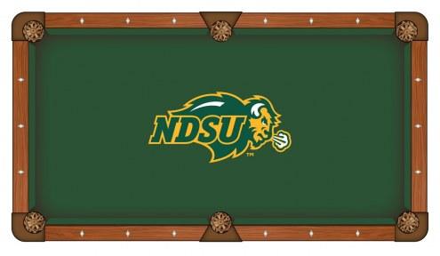 North Dakota State Bison Pool Table Cloth