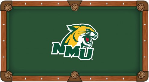 Northern Michigan Wildcats Pool Table Cloth