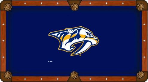 Nashville Predators Pool Table Cloth