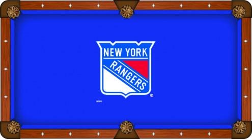 New York Rangers Pool Table Cloth