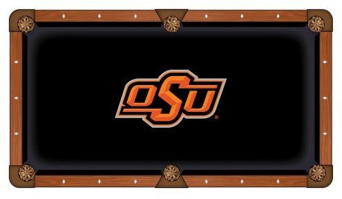 Oklahoma State Cowboys Pool Table Cloth