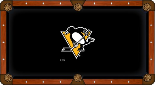 Pittsburgh Penguins Pool Table Cloth