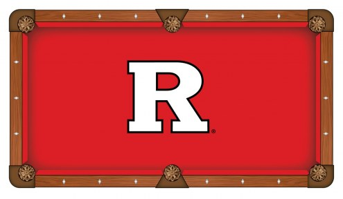Rutgers Scarlet Knights Pool Table Cloth