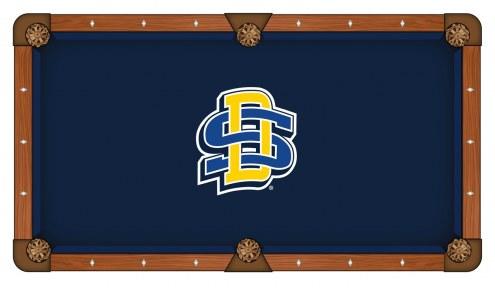 South Dakota State Jackrabbits Pool Table Cloth