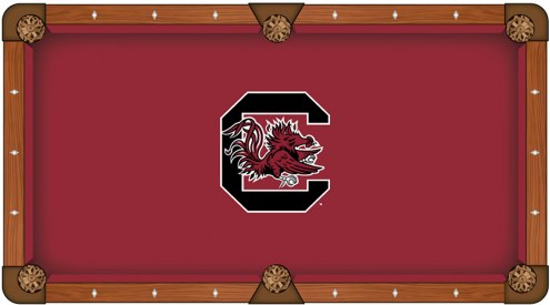 South Carolina Gamecocks Pool Table Cloth
