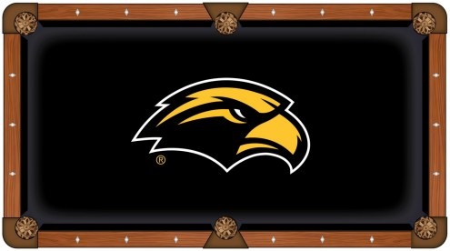 Southern Mississippi Golden Eagles Pool Table Cloth