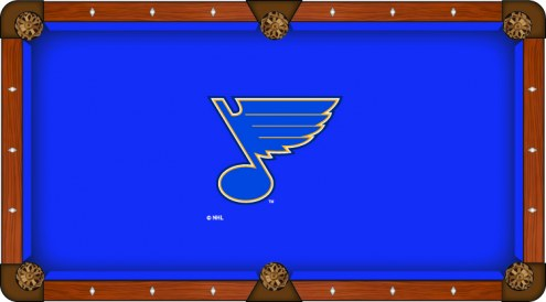St. Louis Blues Pool Table Cloth