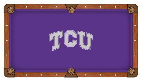 Texas Christian Horned Frogs Pool Table Cloth