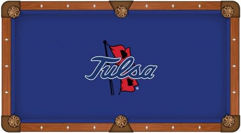 Tulsa Golden Hurricane Pool Table Cloth