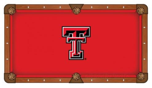 Texas Tech Red Raiders Pool Table Cloth