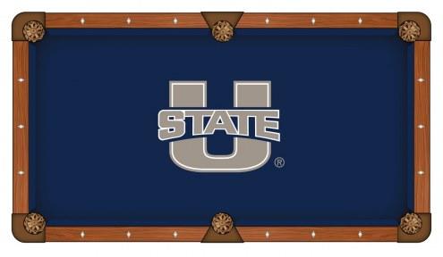 Utah State Aggies Pool Table Cloth