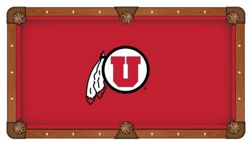 Utah Utes Pool Table Cloth