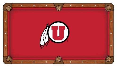 Utah Utes Pool Table Cloth