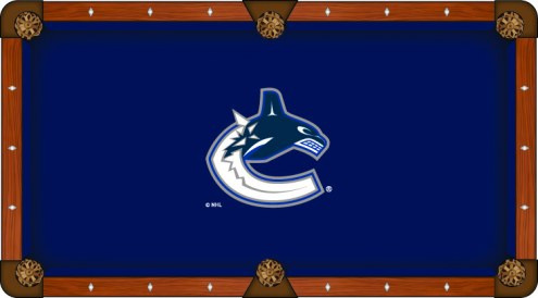 Vancouver Canucks Pool Table Cloth