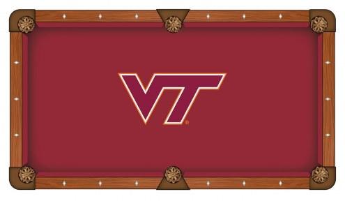 Virginia Tech Hokies Pool Table Cloth