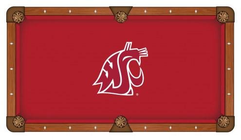 Washington State Cougars Pool Table Cloth