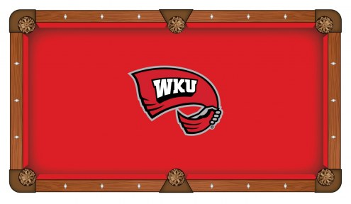 Western Kentucky Hilltoppers Pool Table Cloth