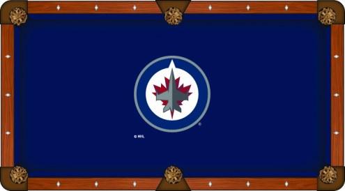 Winnipeg Jets Pool Table Cloth