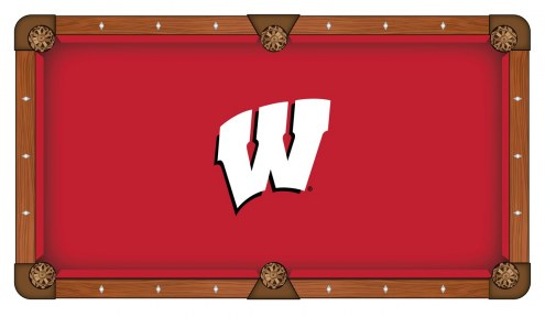 Wisconsin Badgers Pool Table Cloth