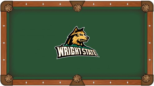 Wright State Raiders Pool Table Cloth