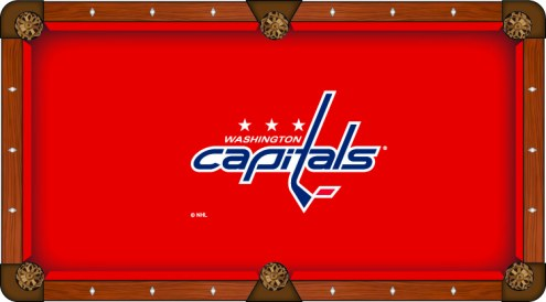 Washington Capitals Pool Table Cloth