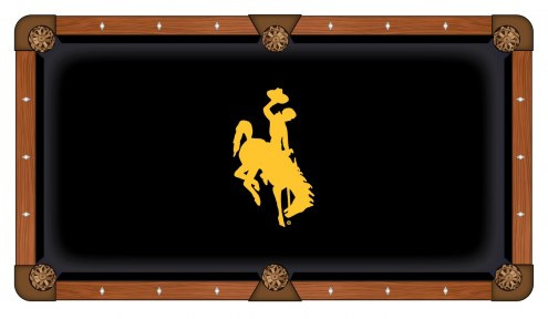 Wyoming Cowboys Pool Table Cloth