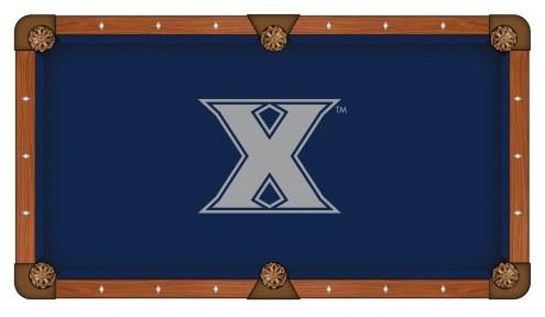 Xavier Musketeers Pool Table Cloth