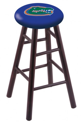 Florida Gators Maple Wood Bar Stool