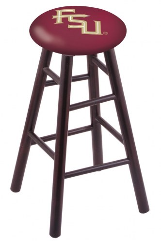 Florida State Seminoles Maple Wood Bar Stool
