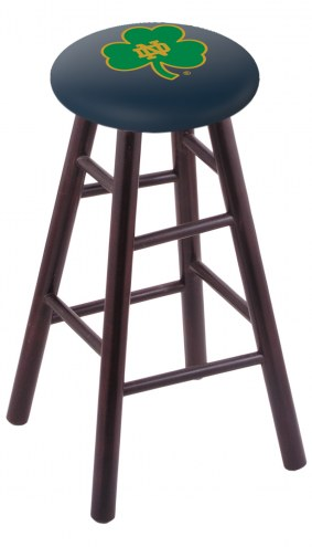 Notre Dame Fighting Irish Maple Wood Bar Stool