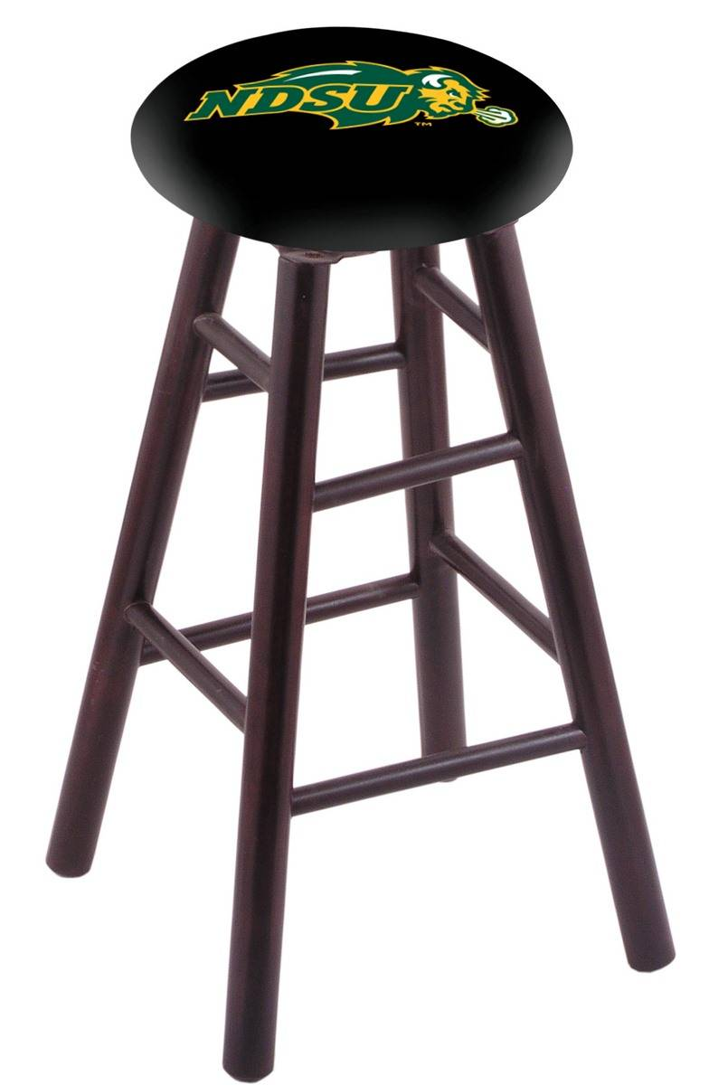 North Dakota State Bison Maple Wood Bar Stool
