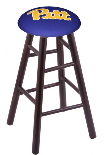 Pittsburgh Panthers Maple Wood Bar Stool