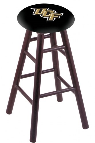 Central Florida Knights Oak Wood Bar Stool