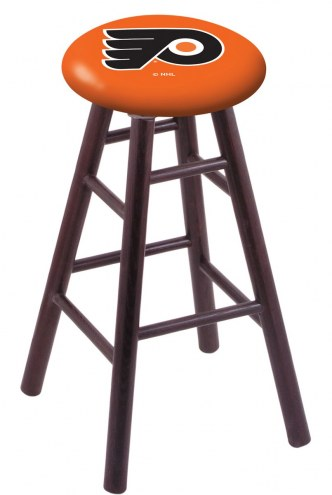 Philadelphia Flyers Oak Wood Bar Stool