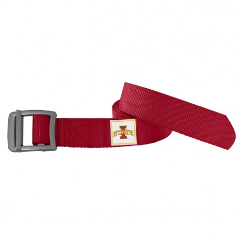 Iowa State Cyclones Dark Red Field Belt