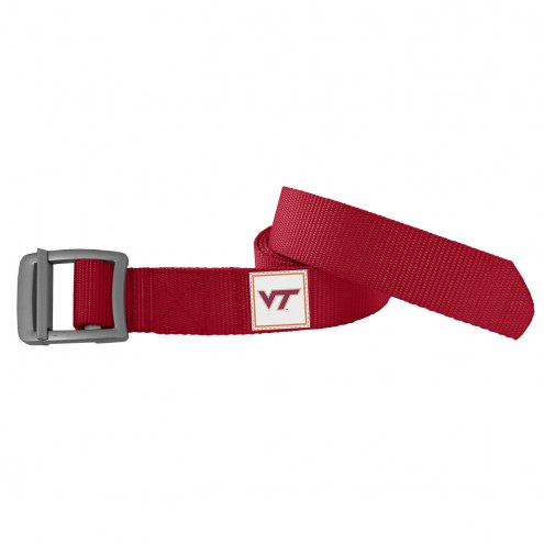 Virginia Tech Hokies Dark Red Field Belt