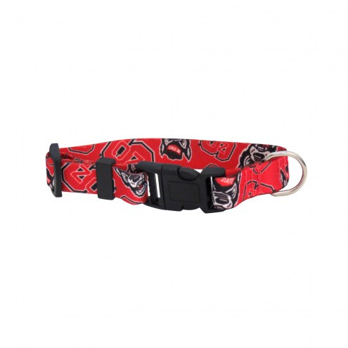 North Carolina State Wolfpack Team Pet Collar