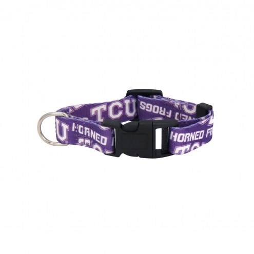 Texas Christian Horned Frogs Team Pet Collar