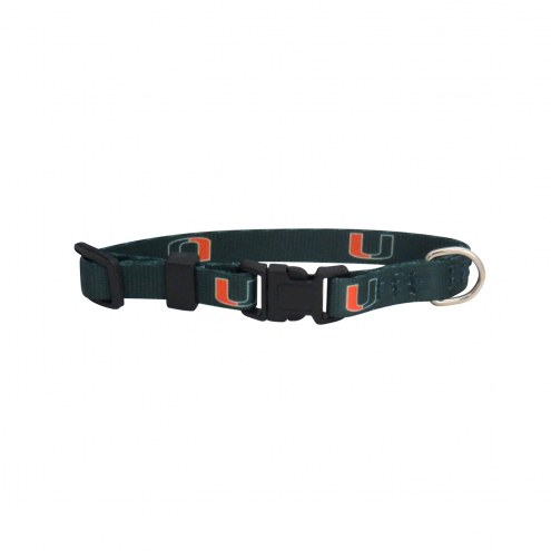 Miami Hurricanes Team Pet Collar