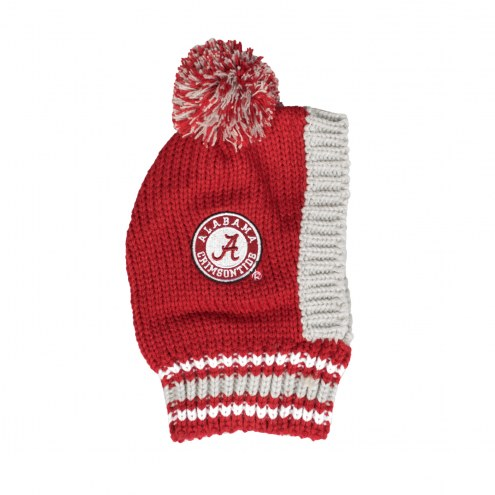 Alabama Crimson Tide Knit Dog Hat