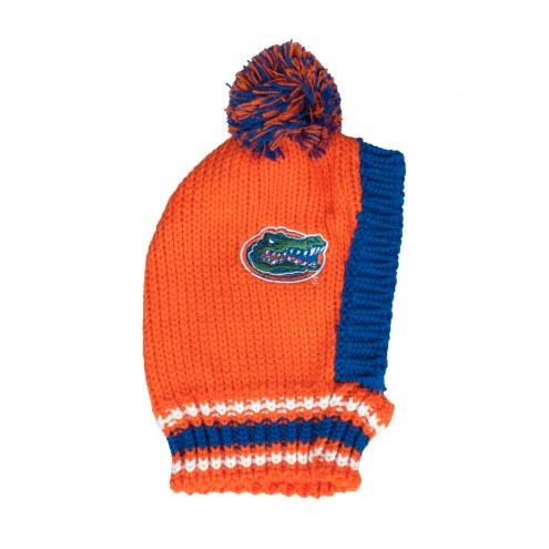Florida Gators Knit Dog Hat