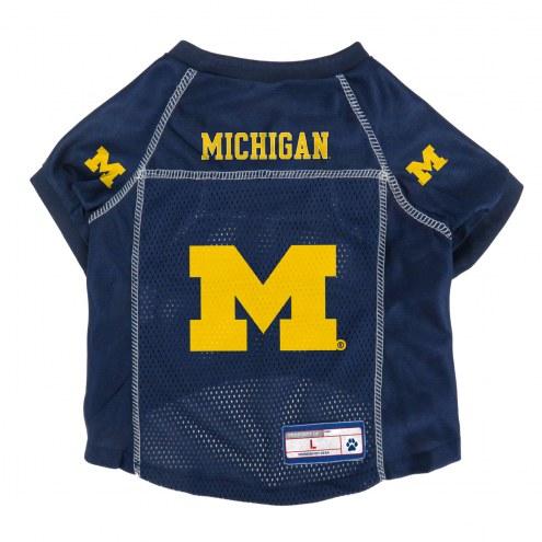 Michigan Wolverines Pet Jersey