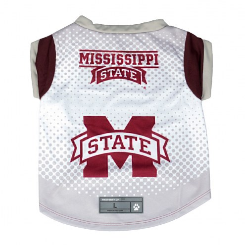 Mississippi State Bulldogs Dog Performance Tee