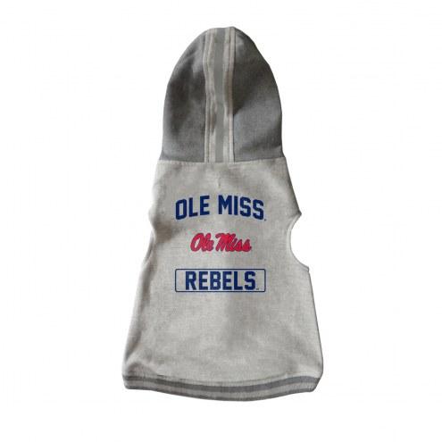 Mississippi Rebels Dog Hooded Crewneck