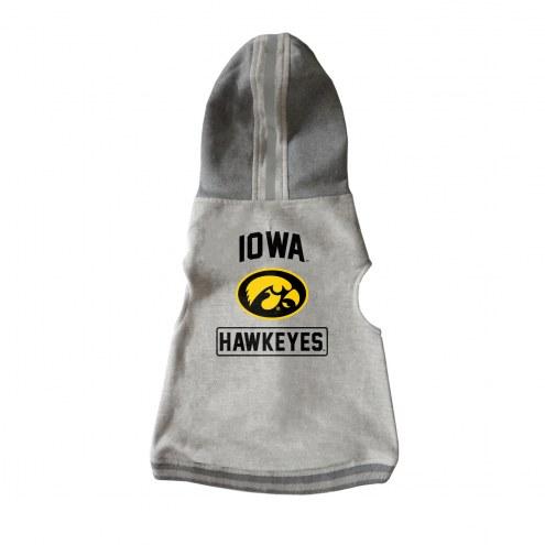 Iowa Hawkeyes Dog Hooded Crewneck